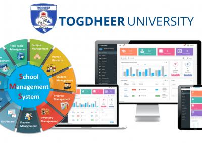 Togdheer University ERP Management System