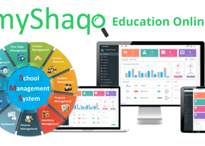 myShaqo Online Education – Software ERP Management System