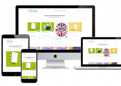 myShaqo Online Education Portal