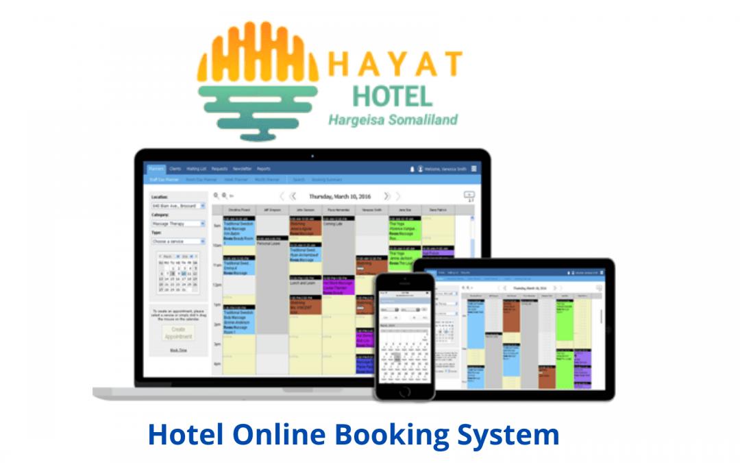Hayat Hotel Hargeisa Online Booking System