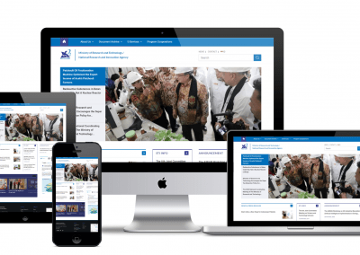 Ministry Of Research and Technology – Website Portal